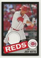 2020 Topps Series 2 JOEY VOTTO 1985 Topps Relic BLACK 085/199 Reds Jersey
