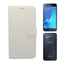 Étuis, housses et coques blancs brillants Samsung Galaxy J pour téléphone mobile et assistant personnel (PDA)
