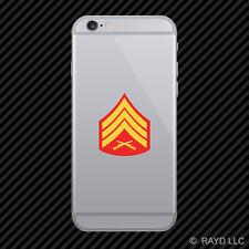 E-5 Sergeant Insignia Cell Phone Sticker Mobile usmc marine corps