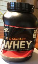 New Optimum Gold Standard 100% Whey, Extreme Milk Chocolate 4/2021 Exp 5 Lbs