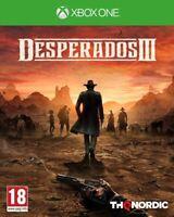 Desperados 3 For Xbox One (New & Sealed)