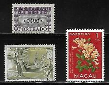 Lot of 9 Former Portugal Colonial Stamps - Check the Scans
