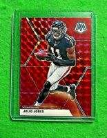 JULIO JONES MOSAIC PRIZM RED CARD JERSEY #11 ATLANTA FALCONS 2020 PANINI MOSAIC