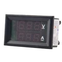 DC 0-100V 10A Dual LED Digital Voltmeter Ammeter Voltage Ampere n Volt Powe P8K7