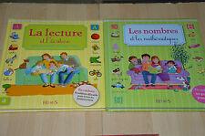 lot 2 livres La lecture l'écriture / Les nombres et les Mathématiques - Fleurus