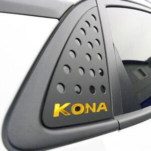 Rear Window Glass Sports Plate Panel C Pillar 2p for 2018 2019 2020 Hyundai Kona