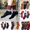 3 Pair Women Winter Cute Animal Pattern Fashion Casual Soft Wool Cotton Socks