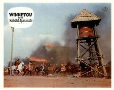 Winnetou und das Halbblut Apanatschi ORIGINAL Aushangfoto Brice / Barker / May