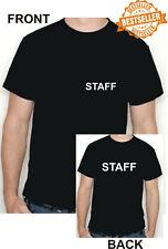 Personal T-Shirt/Front + Back Print/Arbeit/Business/Shop/EVP/Größe X-Large