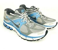 Nike Pegasus 27 Womens Size 7.5 Gray Blue Athletic Running Shoes 396040-001
