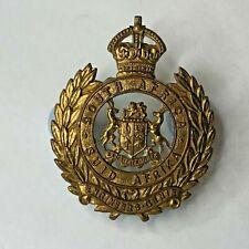 WW2 South African Engineers Corps Cap Badge Genuine