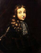 Kinderbildnis des späteren Kaisers Josef I, um 1690