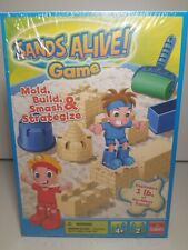 Sands Alive Game by Goliath Includes 1 lb of No mess Sand Brand New