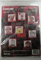 Janlynn #38-82 Christmas Cross stitch Suzy's Zoo II - NEW set of 8 ornaments