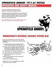 Springfield Armory 1911A1 Pistol Manual