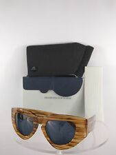 Brand New Authentic Grey Ant Sunglasses Carl Zeiss Optics Above Average Brown