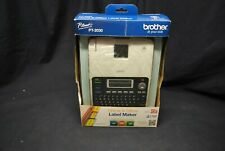 Brother PT-2030 Label Maker with Label Tape