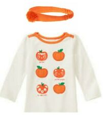 NWT 2pc Gymboree Happy Harvest Pumpkin Pick Me Halloween Size 2T Fall