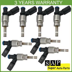 8X Fuel Injectors For Audi A6 Quattro A8 Quattro S5 Q7 R8 079906036C 079906036AA