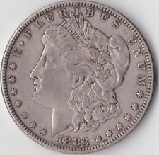 1883 'Morgan' Dollar - USA Philadelphia Mint - 0.900 Silver