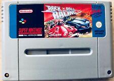 Für Nostalgiker | Super Nintendo Spiel Rock 'n' Roll Racing