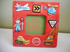 LIDDY DESIGN LIDS KIDZ PHOTO FRAME FOR BOY MULTI-COLOURED 18CMX18CM CERAMIC