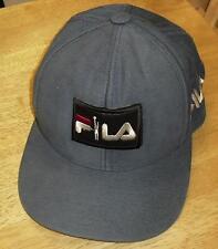 Fila hat leather logo Shoes Vintage 90's STRAPBACK hat cap LL COOL J Grant Hill