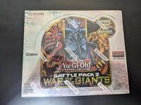 Yu-Gi-Oh Battle Pack 2 War of the Giants 1st Booster Box 1st Ed SEALED