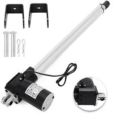 """16"""" 6000N Electric Linear Actuator 1320 Pound Max Lift Heavy Duty 24V DC Motor"""