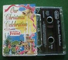 Our Christmas Celebration People's Friend 2002 inc Gaudete Cassette Tape TESTED