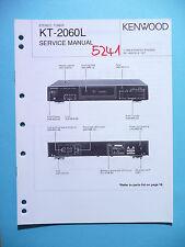 Manuel de reparation pour Kenwood kt-2060l, original