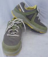 Chaco Womens Green Gray Lace Up Shoes Hiking Outdoor Size 7