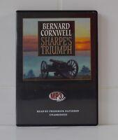 Sharpe's Triumph - by Bernard Cornwell - MP3CD - Audiobook
