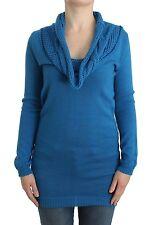 NUOVA CON ETICHETTA C E C CoSTUME NATIONAL maglia girocollo maglione abito lungo