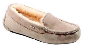 Old Friend Footwear Women's Bella Taupe Nubuck Slippers 441310 Size 11 M