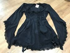 AGENT PROVOCATEUR Black GRACE Dressing Gown Medium BRAND NEW WITH TAGS!