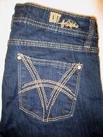 Kut From the Kloth Maggie Flare Stretch Womens Blue Denim Jeans Sz 4  x 31 Mint