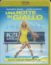 Blu-ray **UNA NOTTE IN GIALLO** con Elizabeth Banks nuovo 2013