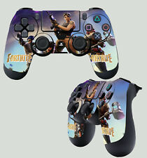 FORTNITE BATTLE ROYALE SHOOTER PS4 PLAYSTATION 4 CONTROLLER PAD STICKER SKIN X 2