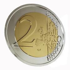 Riesenmünze 2 Euro als Abschluss-Effekt Ihrer Münzenroutine - Zaubertrick