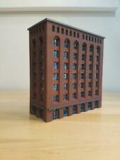 N scale 1/160 Downtown High Rise Laser Cut Built and Ready Red Brick