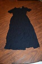 A14- Vintage Betsy's Things Black Dress Size  8