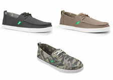 Sanuk Slip Ons Canvas Shoes for Men