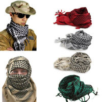 Unisex Army Military Tactical Arab Shemagh KeffIyeh Shawl Scarves Neck Cover New