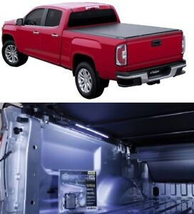 """Access TonnoSport Cover w/ TruXedo 18"""" B-Light For 04-14 Ford F-150 6' 7"""" Bed"""