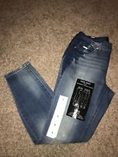 NWT Women's Nine West Blue Denim Jeans Sz 4.  Gramercy Skinny Ankle