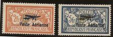 FRANCIA Correo Aéreo Yvert 1/2*Mh Salón Internacional Serie completa 1927 NL1256