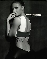 'EMMANUELLE CHRIQUI' - 'Stunning' - autographed 8x10 B&W photo COA