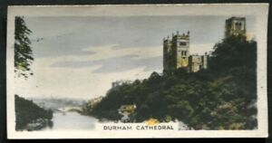 Tobacco Card,Cavander,BEAUTY SPOTS OF GREAT BRITAIN,1927,Std,Durham Cathedral,37