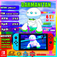 Darmanitan Ultra Shiny 6IV Pokémon Sword and Shield pokérus Galar